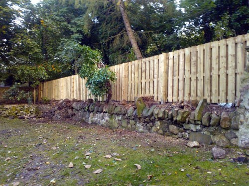 garden fencing edinburgh the garden construction