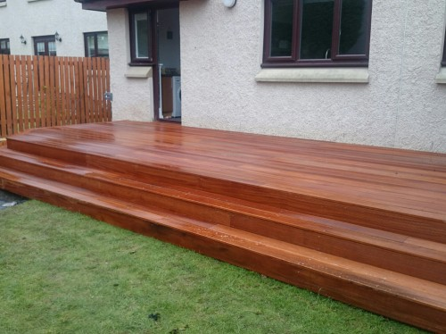 timber decking edinburgh