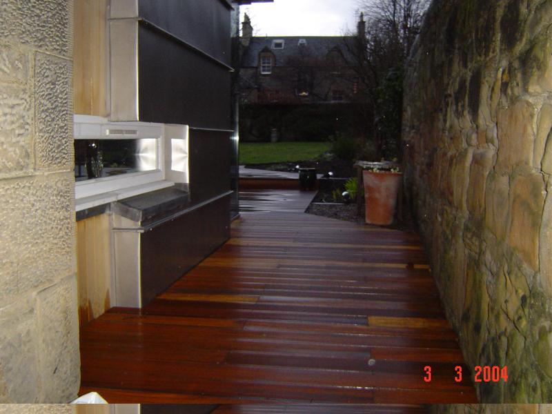 hardwood decking edinburgh
