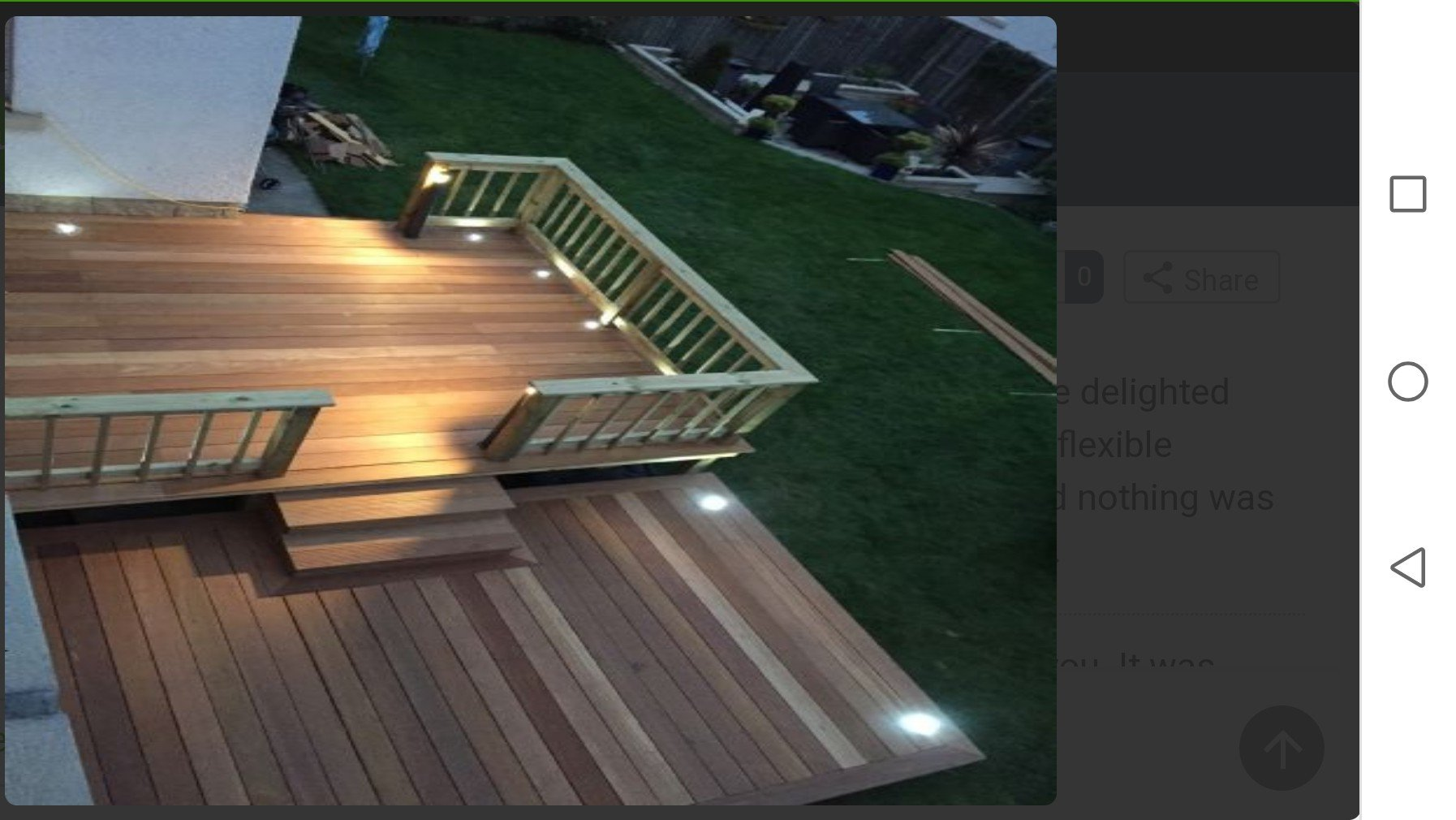 Hardwood Deck Edinburgh